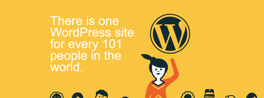 WordPress Statistics Infographic Featured Image