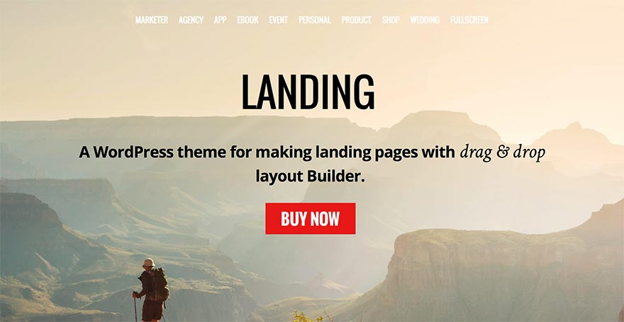 WordPress Landing Page Theme by Themify - Featured Image