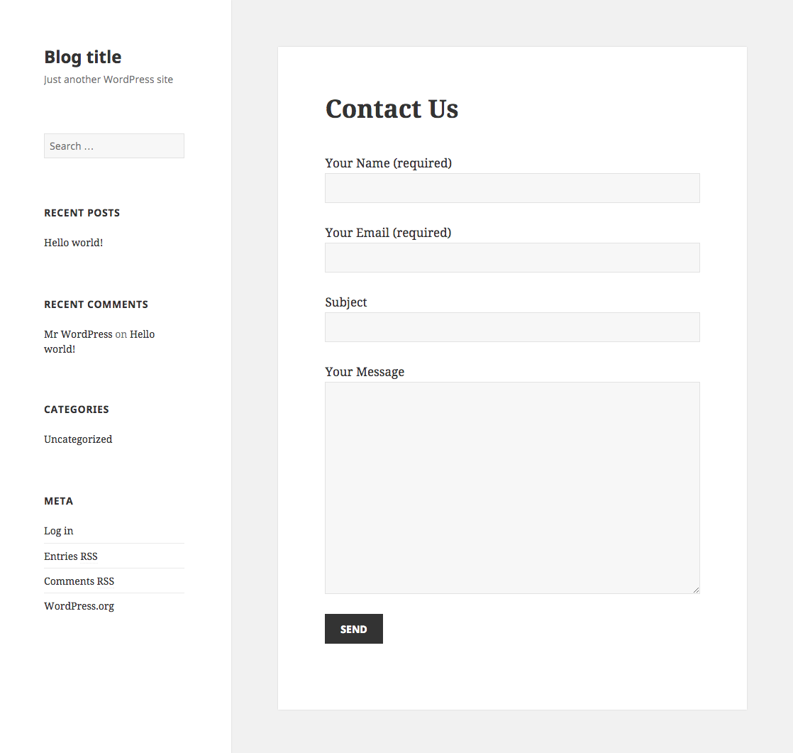 The 7 Best Free And Premium Contact Form Plugins For Wordpress 2018
