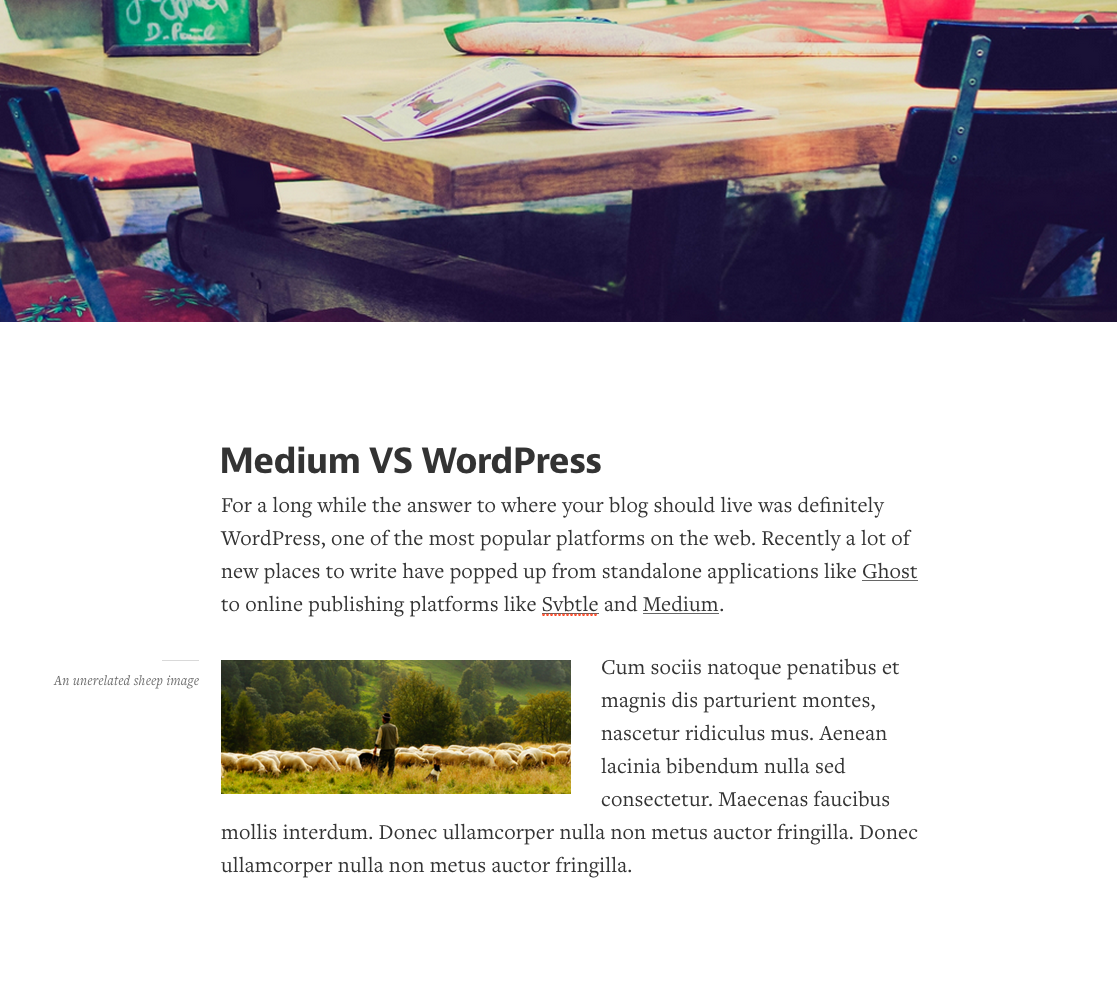 medium vs wordpress choosing the right platform edited content in medium