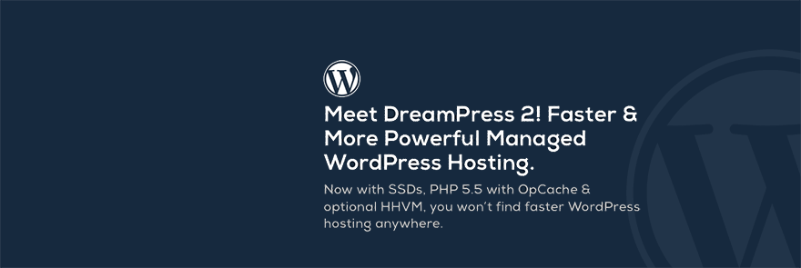 DreamHost DreamPress 2 - Managed WordPress Hosting - Featured Image