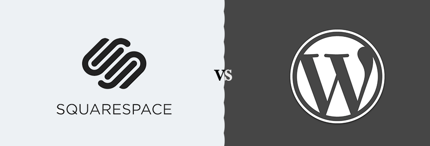 Squarespace vs WordPress - Featured Image