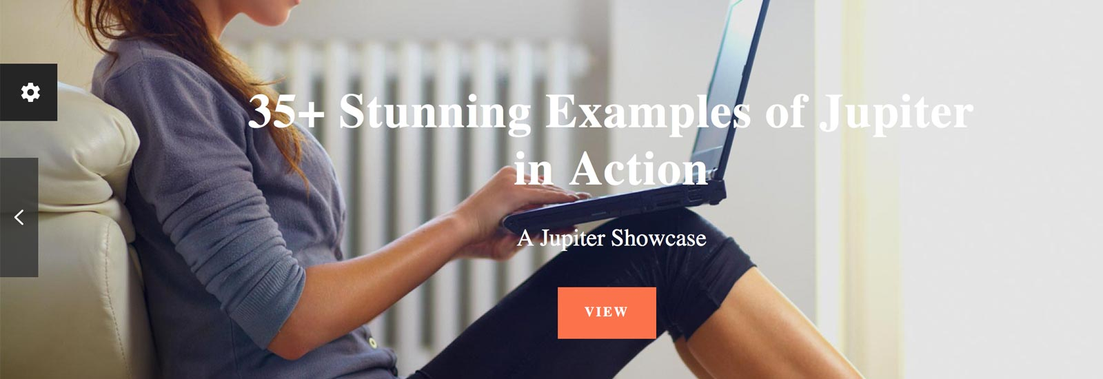 Examples of Jupiter WordPress Theme