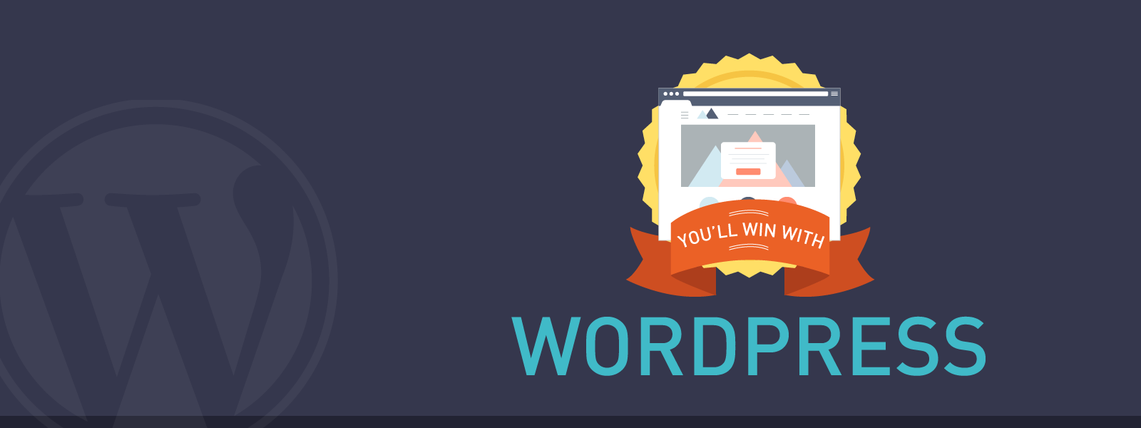 Win With WordPress - Infographic