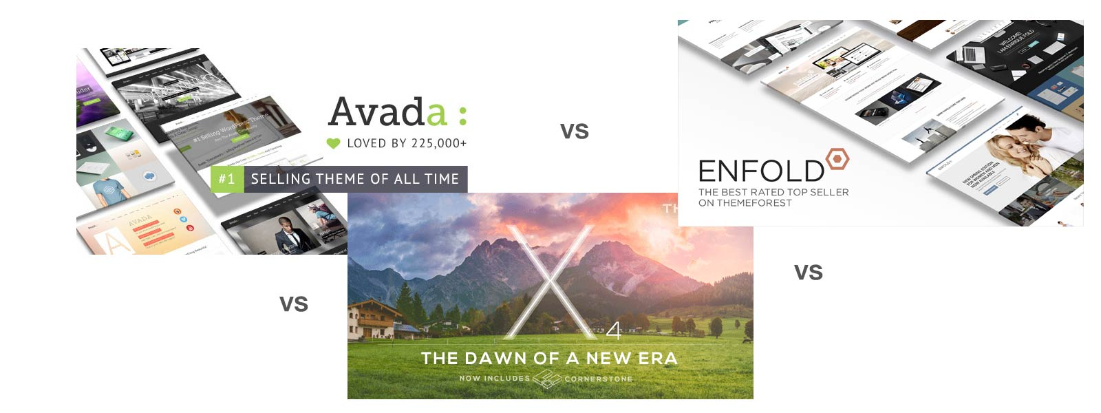 Avada, X-Theme or Enfold - Leading WordPress Themes Compared