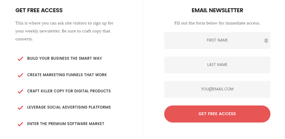 Rainmaker Review Landing Page Preview
