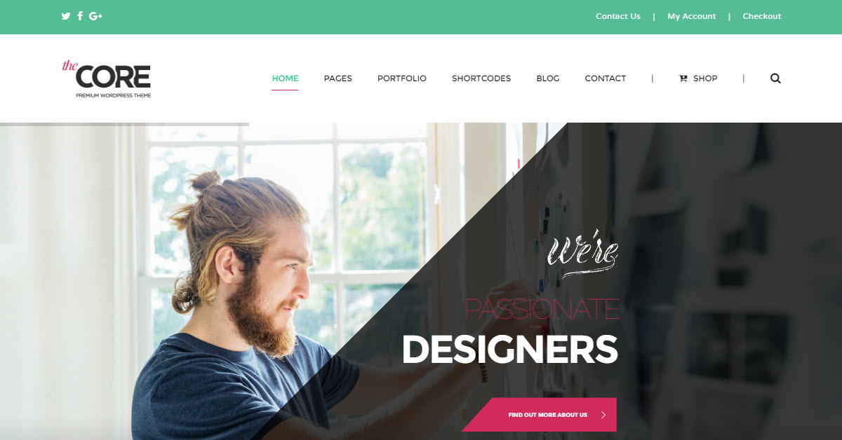 The Core is one of the most popular multi-purpose WordPress themes