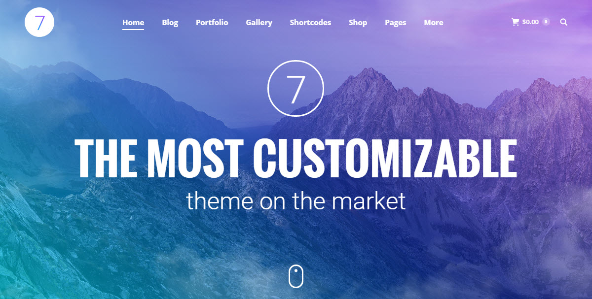 The7 Multi-Purpose WordPress Theme