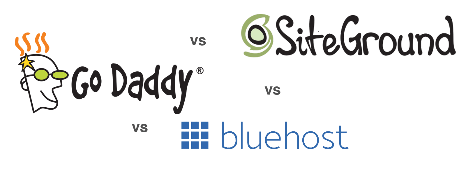 Bluehost, GoDaddy or SiteGround: Which is Best for WordPress 2019?
