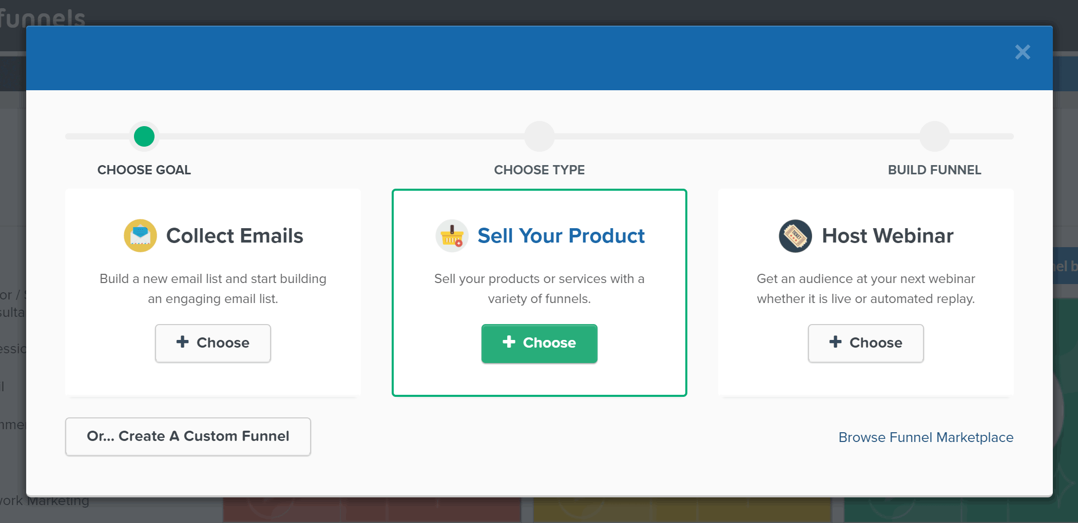 Create Custom Sales Funnel with ClickFunnels