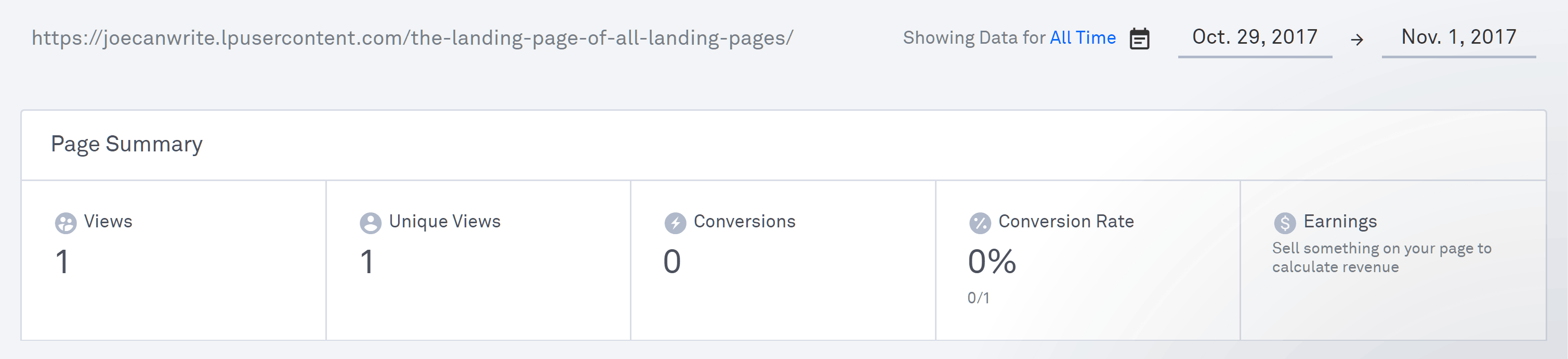 Leadpages Analytics Reporting