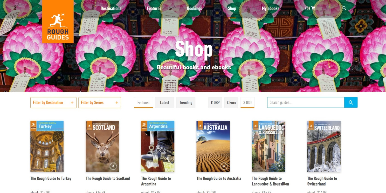 Rough Guides Shop