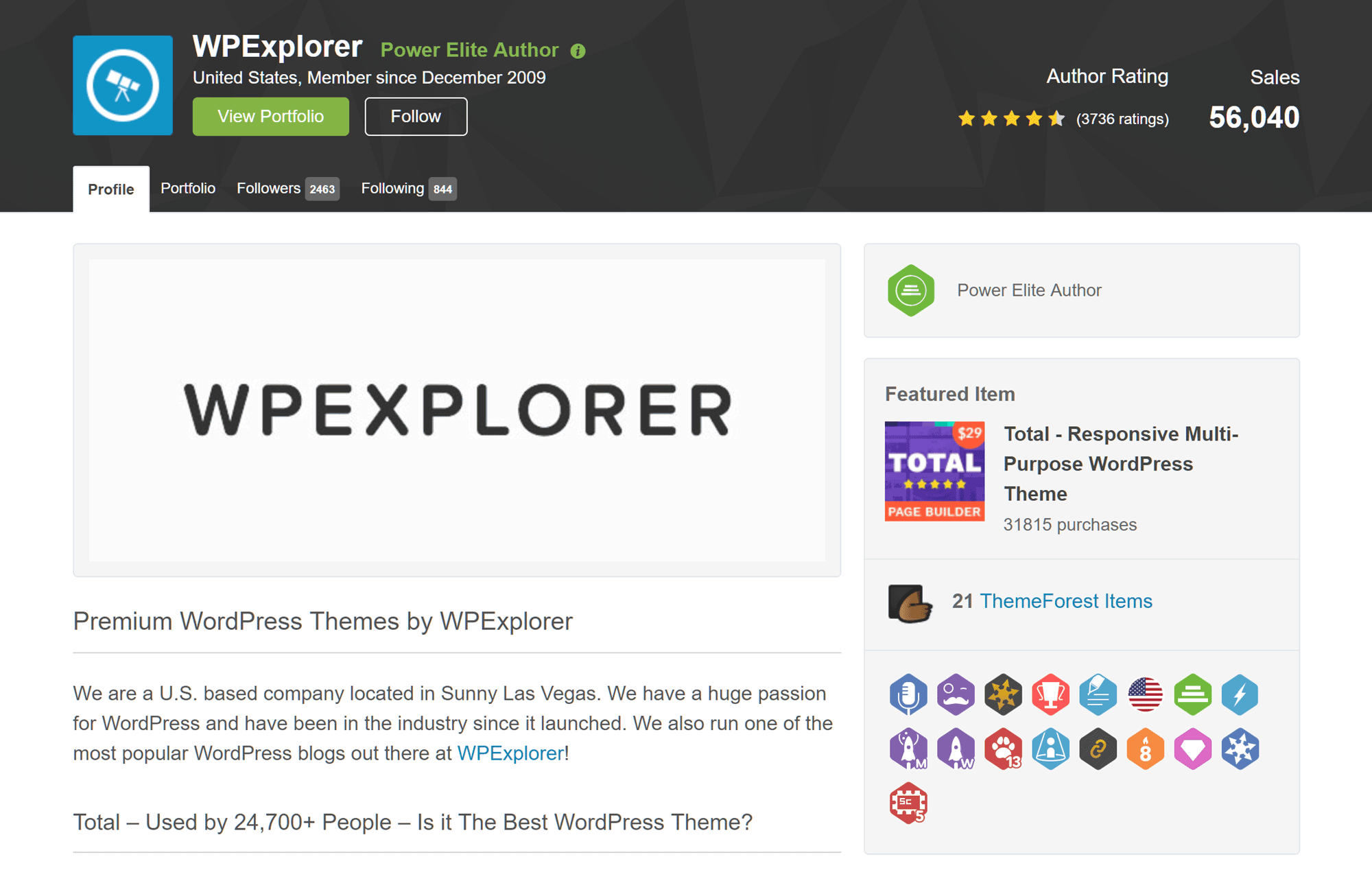 WPExplorer on ThemeForest