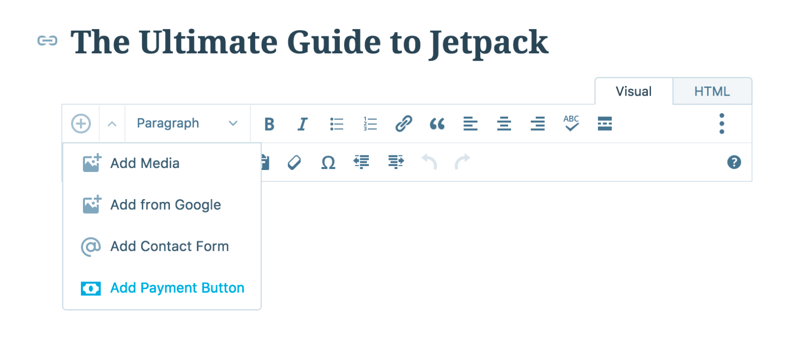 Accepting payments via PayPal with Jetpack