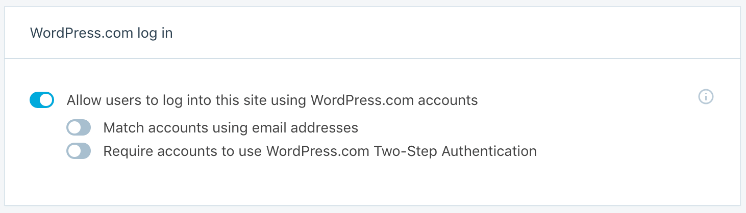 WordPress Login Security Options by Jetpack