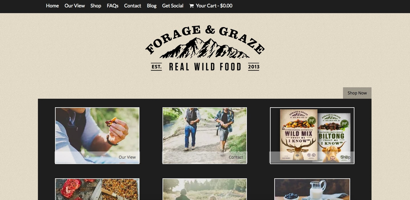 Forage and Graze