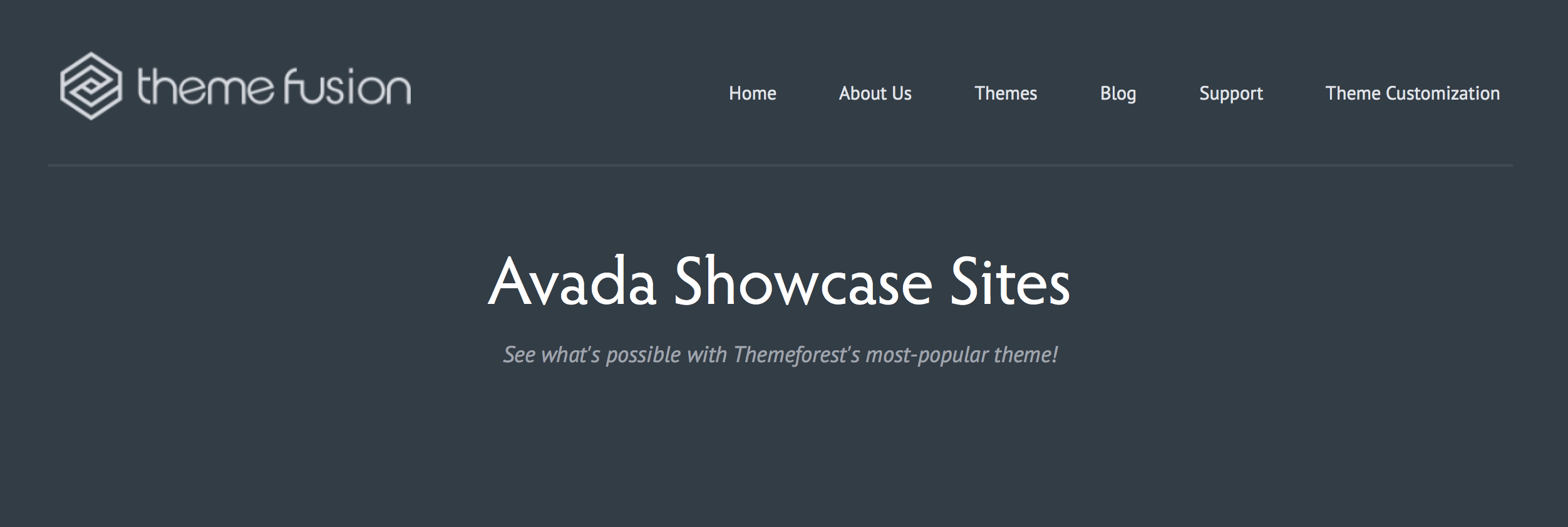 Example Sites Built With Avada WordPress Theme
